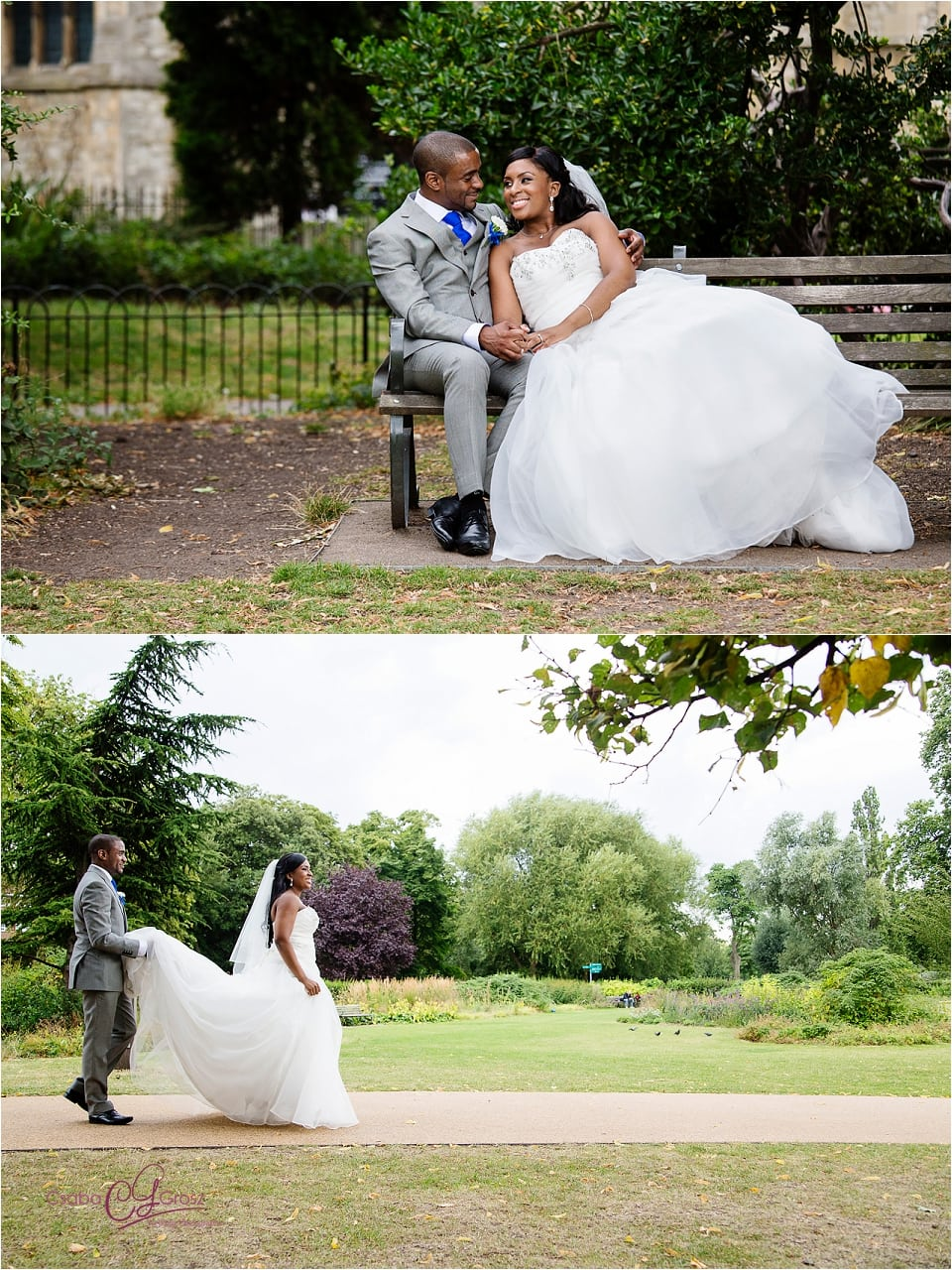 Ola and Ashley - Stoke Newington Wedding Photography9