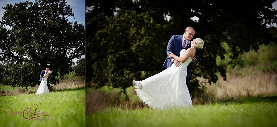 Fun Countryside Wedding Photography in Hertfordshire