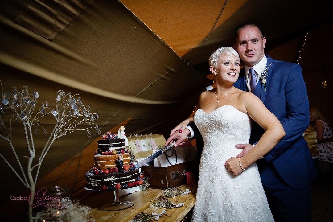 Tipi Wedding Photography in Hertfordshire