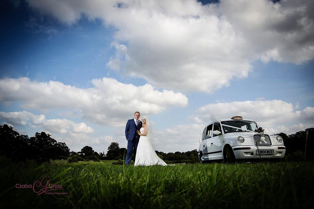Stunning Field Wedding Photography