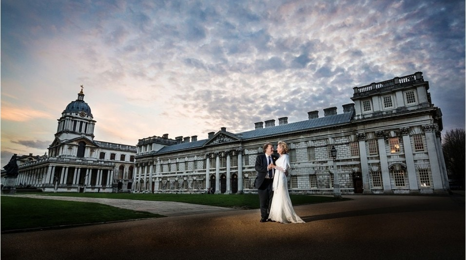 Stunning Couple get married at Admiral`s House