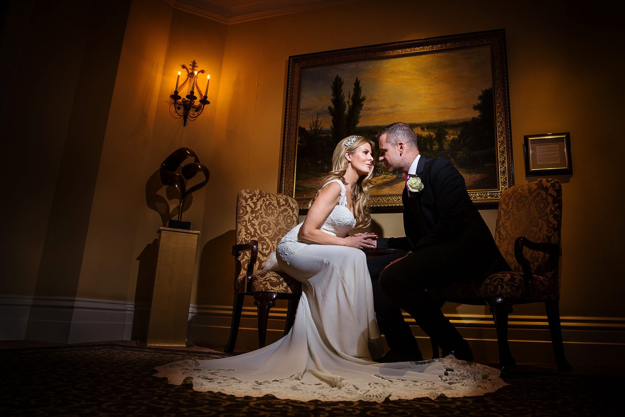 Wedding Photography at Petersham Hotel in Richmond